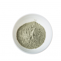 Green cosmetic clay