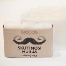 100% dabīgās Skūšanās ziepes BIOCOS academy